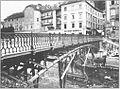 Cankarjevo nabrežje 25, 27 in Pod Trančo 2 ok. 1930.jpg