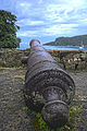 Cannon at the Battery of Santiago, Portobello Panama.jpg