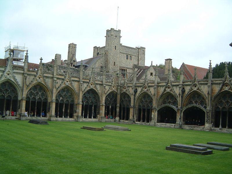 Image:Canterbury - Kreuzgang der Kathedrale von Canterbury.jpg
