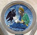 Cappella pazzi, evangelisti di luca della Robbia, san giovanni.JPG