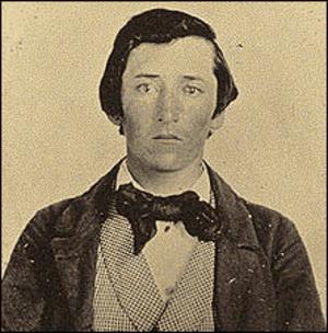 Quantrill's Raiders - Early photo of Capt. William Clarke Quantrill