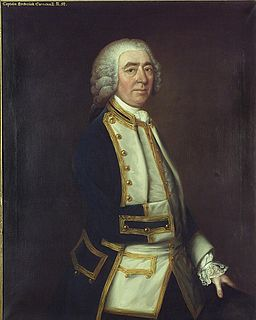 Frederick Cornewall British naval officer and politician, 1706-1788