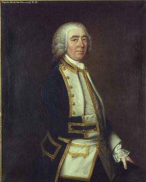 Frederick Cornewall - Frederick Cornewall, by an unknown artist c.1765
