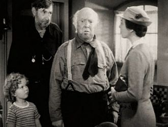 Captain January (1936 film) - L-R: Shirley Temple, Slim Summerville, Guy Kibbee, and Sara Haden