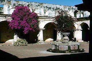 Iglesia y Convento de las Capuchinas, Antigua Guatemala