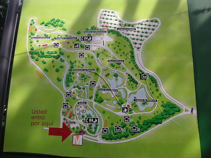 Caracas zoo map.jpg