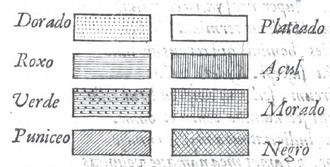 Juan Caramuel y Lobkowitz - Hatching table printed by Lobkowitz in 1636