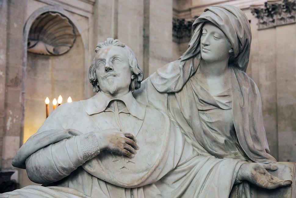 Cardinal richelieu tomb statue sorbonne