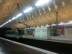 Corentin Cariou (Paris Métro) - Image: Cariou 2