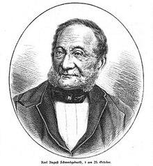Carl August Schwerdgeburth (Quelle: Wikimedia)