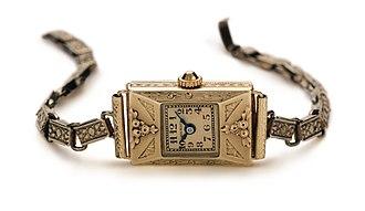 Carl F. Bucherer - The first Carl F. Bucherer ladies' wristwatch, from 1919.