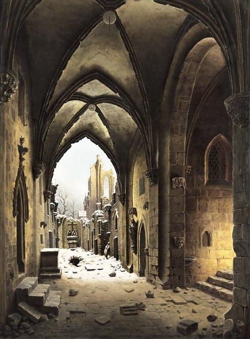 Carl Georg Adolph Hasenpflug - Das Kloster Walkenried