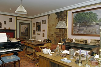 Carl Nielsen Museum - A room in the museum