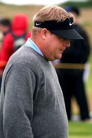Carl Pettersson - Pettersson at the 2007 Open Championship