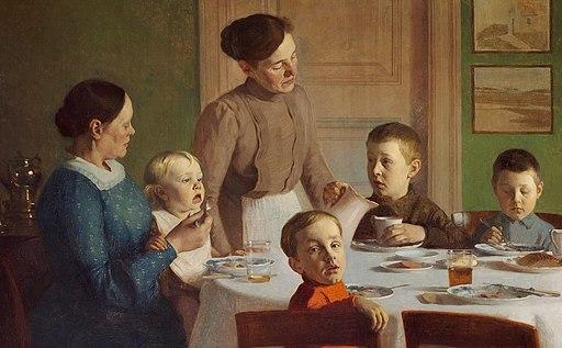 Carl Vilhelm Meyer - Ved Frokostbordet