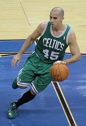 Carlos Arroyo - Arroyo with the Boston Celtics in 2011