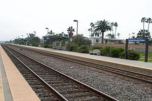 Carlsbad Poinsettia station - Image: Carlsbad Poinsettea Station