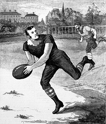 George Coulthard, an early champion Carlton footballer Carlton Footballer George Coulthard.jpg