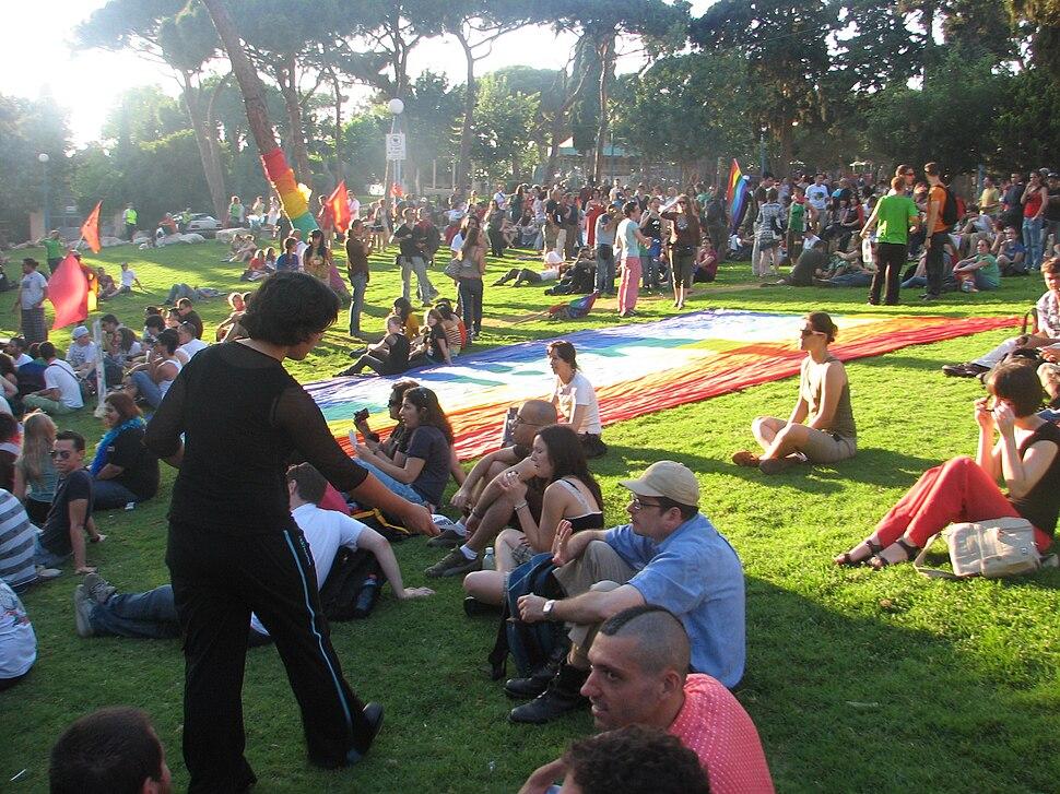 Carmel pride rally