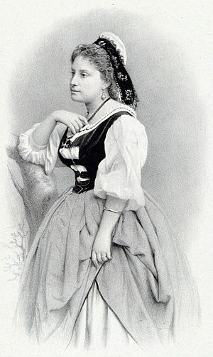 Mireille (opera) - Miolan-Carvalho in the title role in the premiere