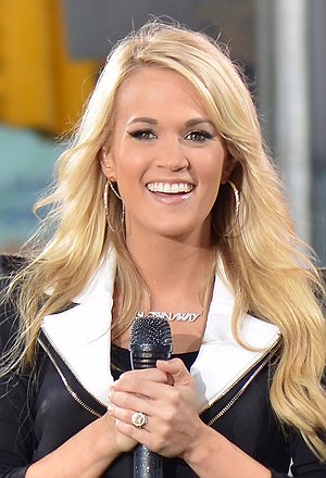Carrie Underwood - Underwood at Times Square, May 2012