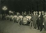 Cars at the end of 1,000 mile rally organised by the Overland company, 1927 (4361741306).jpg