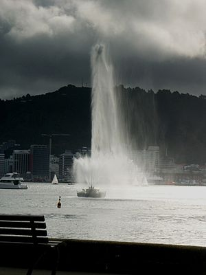 Oriental Bay - Image: Carter Fountain PICT9619