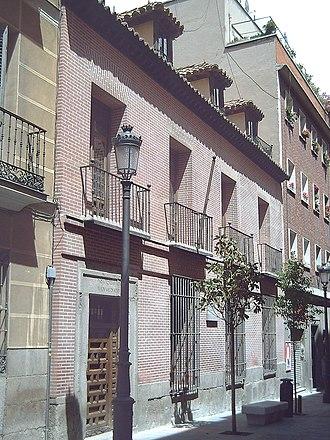 Lope de Vega - Lope's house in Madrid (1610–1635).