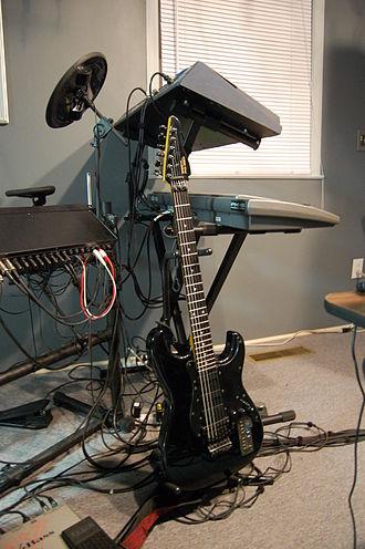 Guitar synthesizer - Casio PG-380 MIDI Guitar (1988)
