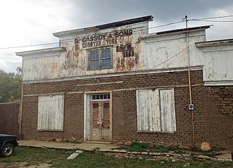 National Register of Historic Places listings in Mora County, New Mexico - Image: Cassidy General Store (1863)