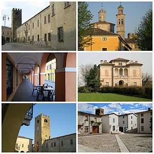 Castel Goffredo - Image: Castel Goffredo collage