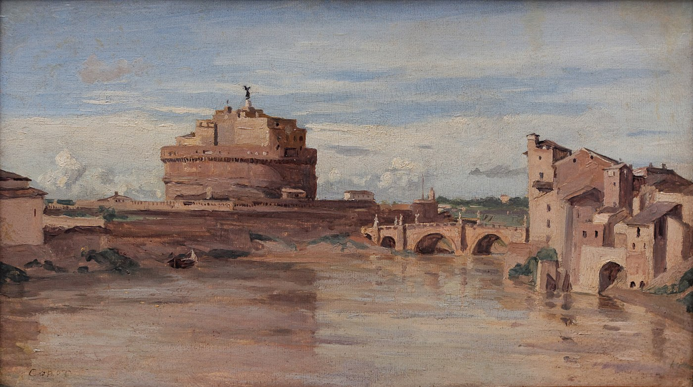 Castel Sant'Angelo and Tiber