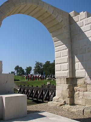 """Alba Iulia - """"Porta Principalis Dextra"""" of the castrum Apulum"""