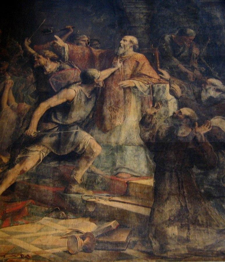 le Martyre de saint Gohard