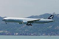 B-KQO - B77W - Cathay Pacific
