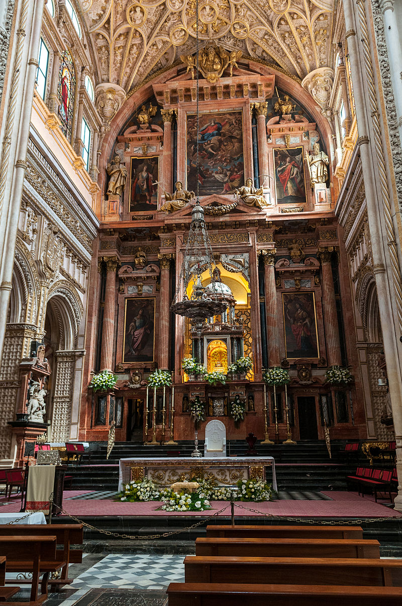 Bon Mercredi 800px-Cathedral%E2%80%93Mosque_of_C%C3%B3rdoba_%286933169868%29