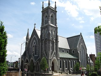 Cathedral of Saint Paul (Worcester, Massachusetts) - Image: Cathedral of Saint Paul, Worcester MA