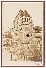 Photographie de la restauration de la chapelle paroissiale dite de l'adoration de la cathédrale de Cahors