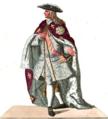 Cavaliere con le Vesti dell' Ordine di San Gennaro.PNG