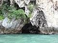 Cave with fishermen. Rainy. - panoramio.jpg