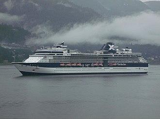 Celebrity Infinity - Image: Celebrity Infinity tendering at Juneau, Alaska