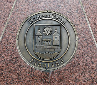 Hämeenlinna - Image: Celle Partnerstadt Haemeenlinna