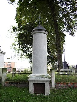 Cemetery in Wisznice (closed) - 22.JPG