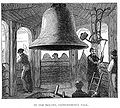 Centennial Bell in the Independence Hall Belfry, Philadelphia - Engraving from 1876.jpg