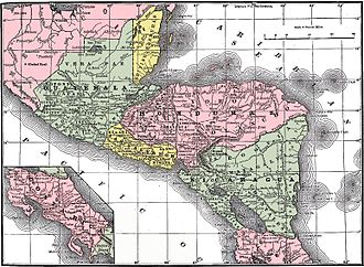 History of Nicaragua - Central America 1892