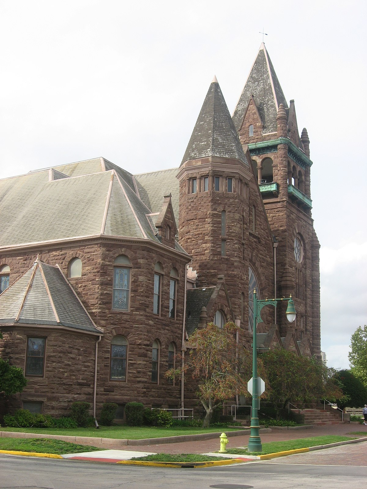 Central Congregational Church Galesburg Illinois