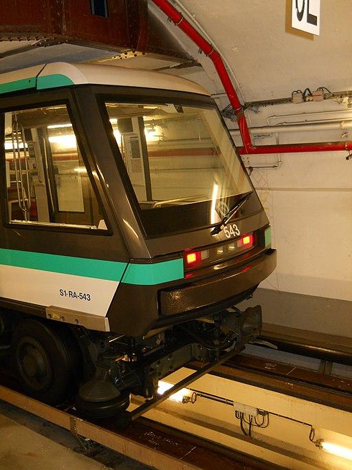 Centre de dépannage des trains de la ligne 1 du métro de Paris - JEP 2013 - Photo n° 48