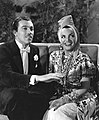 Cesar Romero and Carmen Miranda in Springtime in the Rockies (1942).jpg
