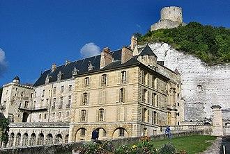 Val-d'Oise - Image: Château de La Roche Guyon