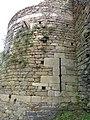 Château de Montafilan, Côrseul (Côtes d'Armor), tour nord DSC07009.jpg